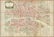 Paris Map By Jacques Esnauts  &  Michel Rapilly