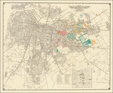 Kentucky Map By E. J. Coleman & Co.