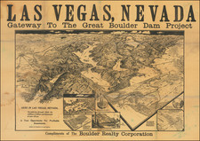 Nevada and Pictorial Maps Map By Gerald  Allen Eddy
