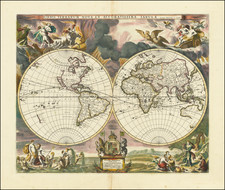 World Map By Moses Pitt