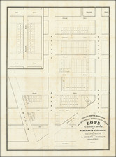 New York City Map By Nathaniel Currier