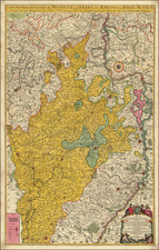 Süddeutschland Map By Alexis-Hubert Jaillot
