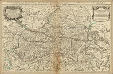 Austria Map By William Berry