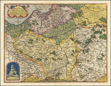 Poland Map By Gerard de Jode