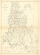 Washington Map By Louis Nell