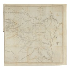 Rare Books Map By Zebulon Montgomery Pike