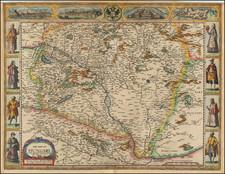 Hungary Map By John Speed