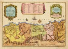 North Africa Map By Pierre Du Val