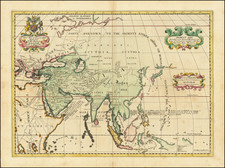 A New Map of Ancient Asia Dedicated to his Highess William Duke of Gloucester By Edward Wells