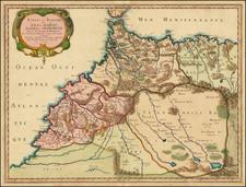 North Africa Map By Nicolas Sanson