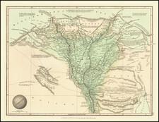 Egypt Map By G.F. Cruchley