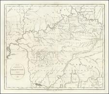 Kentucky, Tennessee, Georgia, Illinois and Indiana Map By John Reid