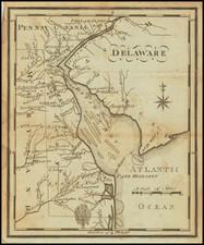 Delaware Map By Joseph Scott