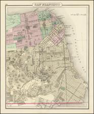 San Francisco & Bay Area Map By O.W. Gray