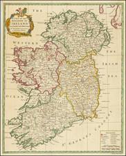 Ireland Map By Richard William Seale