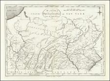 Pennsylvania Map By John Reid