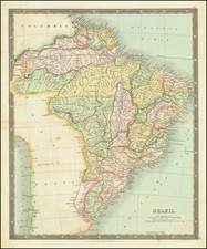 Brazil Map By Henry Teesdale