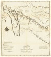 A Chart of the Internal Part of Louisiana, Including all the hitherto unexplored Countries, lying between the River La Platte of the Missouri on the N: and the Red River on the S: the Mississippi East and the Mountains of Mexico West; with a Part of New Mexico & the Province of Texas . . .  By Zebulon Montgomery Pike