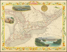 Midwest Map By John Tallis