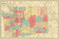Idaho, Washington and RBMS FAIR 2021 Map By Rand McNally & Company