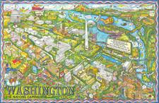Washington, D.C. Map By Trans Continental Cartographers / Penthouse Studios