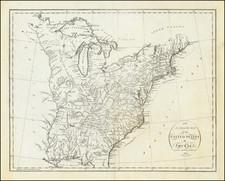 United States Map By John Reid