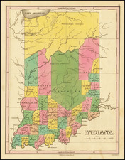 Indiana Map By Anthony Finley