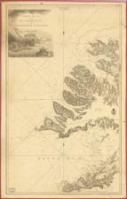Iceland Map By Kongelige Danske Søkort-Arkiv