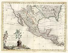 South, Texas, Plains and Southwest Map By Antonio Zatta