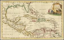 Florida and Caribbean Map By Thomas Jefferys