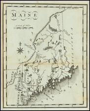 Maine Map By Joseph Scott