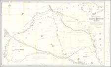 Plains, Iowa, Nebraska, North Dakota, South Dakota, Colorado, Rocky Mountains, Colorado and Wyoming Map By G.K. Warren
