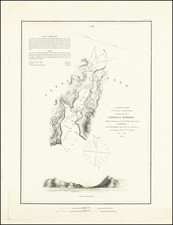 Reconnaissance of Catalina Harbor And the Anchorage on the NE Side of the Island . . . 1852 By United States Coast Survey