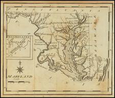 Maryland Map By Joseph Scott