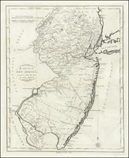 New Jersey Map By John Reid