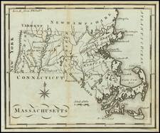 Massachusetts Map By Joseph Scott