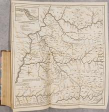 United States, Kentucky and Atlases Map By Jedidiah Morse / John Stockdale / John Filson