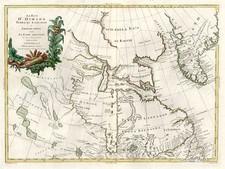 World, Polar Maps and Canada Map By Antonio Zatta