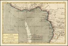 West Africa Map By Rigobert Bonne