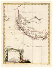 West Africa Map By Antonio Zatta