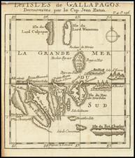 Peru & Ecuador Map By William Dampier