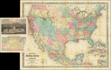 United States, Washington, D.C., Kansas, Nebraska, North Dakota, South Dakota, Montana and Wyoming Map By Charles Magnus