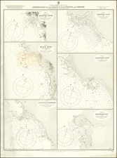 Oregon and Baja California Map By British Admiralty