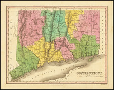 Connecticut Map By Anthony Finley