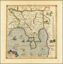 India and Southeast Asia Map By  Gerard Mercator