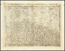 Northern Italy Map By Giacomo Gastaldi