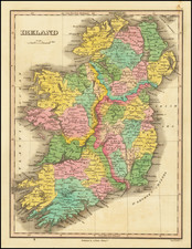 Ireland Map By Anthony Finley
