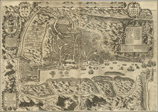 India Map By Jan Huygen van  Linschoten