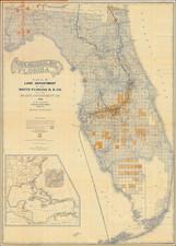 Florida Map By Matthews-Northrup & Co.