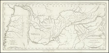 South, Tennessee and Southeast Map By John Reid